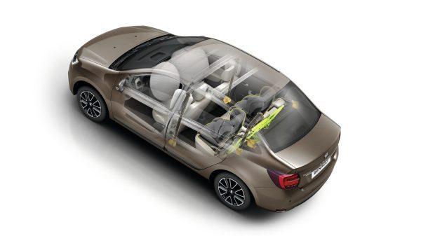 Renault SYMBOL, Protección para los pasajeros del vehículo
