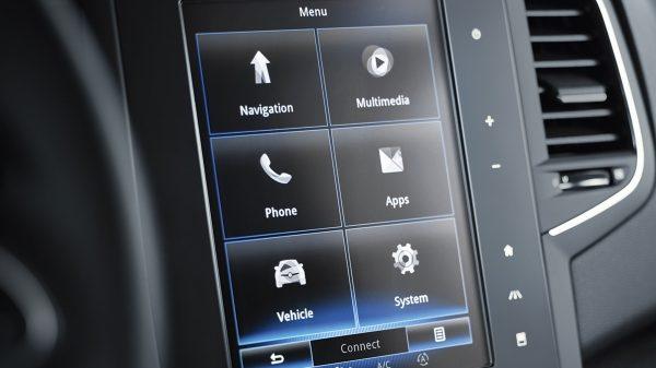 Renault Nuevo Megane RS, Sistema multimedia R-LINK 2 Radio, navegación, asistencia de conducción, etc. El sistema multimedia R-LINK 2 te permite interactuar fácilmente con todas las funciones del vehículo.