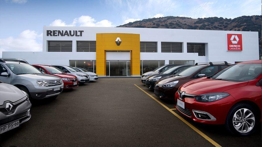 Renault, Renault en Chile