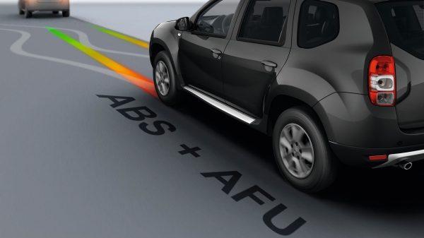Renault SYMBOL, Sistema de frenado antibloqueo y asistencia de frenado de emergencia