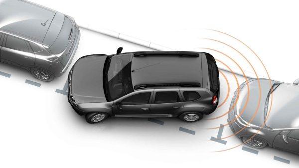 Renault SYMBOL, Sensor de estacionamiento trasero