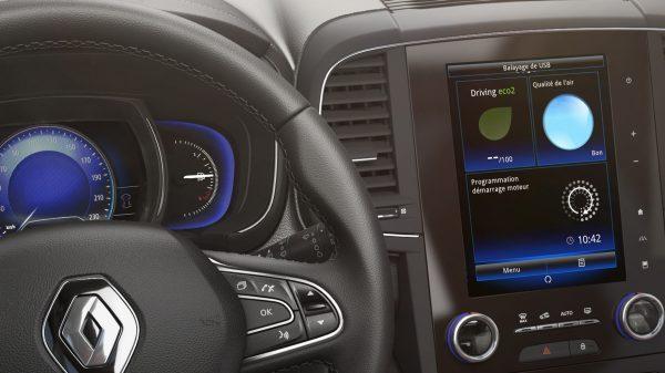 Renault, Personaliza tu tablet