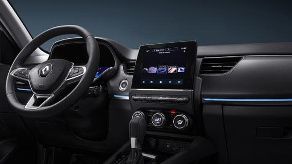 Renault Arkana, Conectividad al alcance Disposición intuitiva del panel y nuevo sistema multimedia Renault Easy Link, con pantalla táctil de 7 pulgadas compatible con Android Auto y Apple CarPlay.