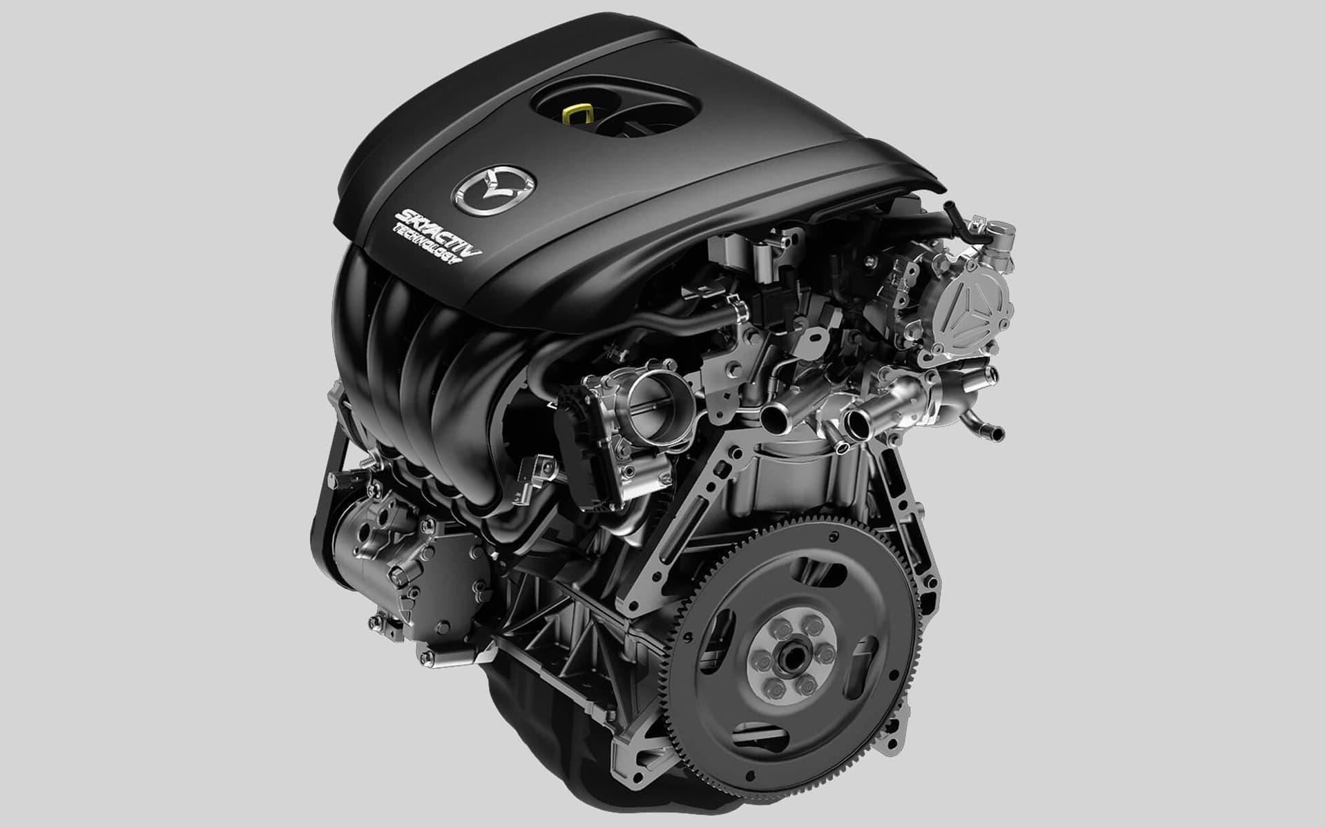 Mazda 3 Sedan 2018: motor – TECNOLOGÍA SKYACTIV®