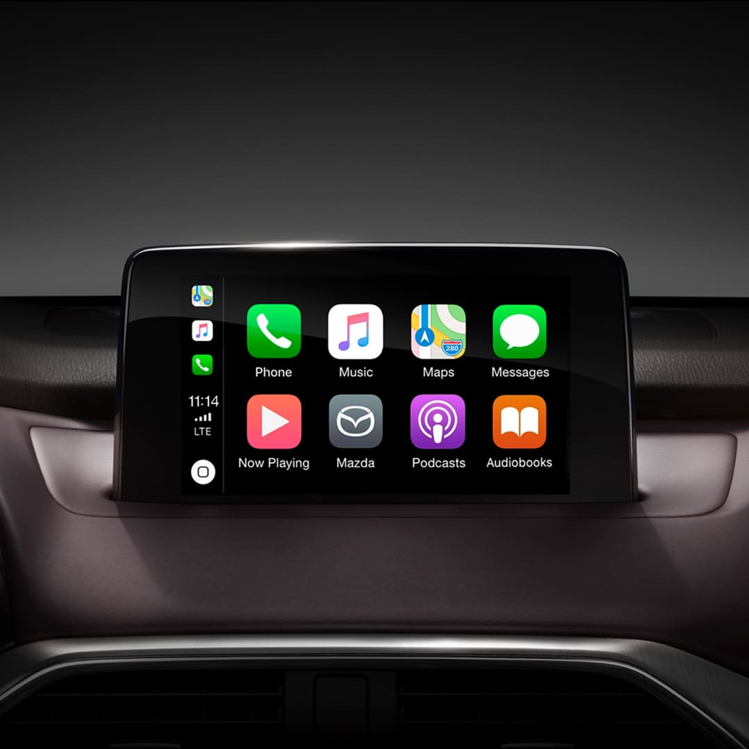 MAZDA CX-9 2019 – Apple CarPlay e integración con Android Auto