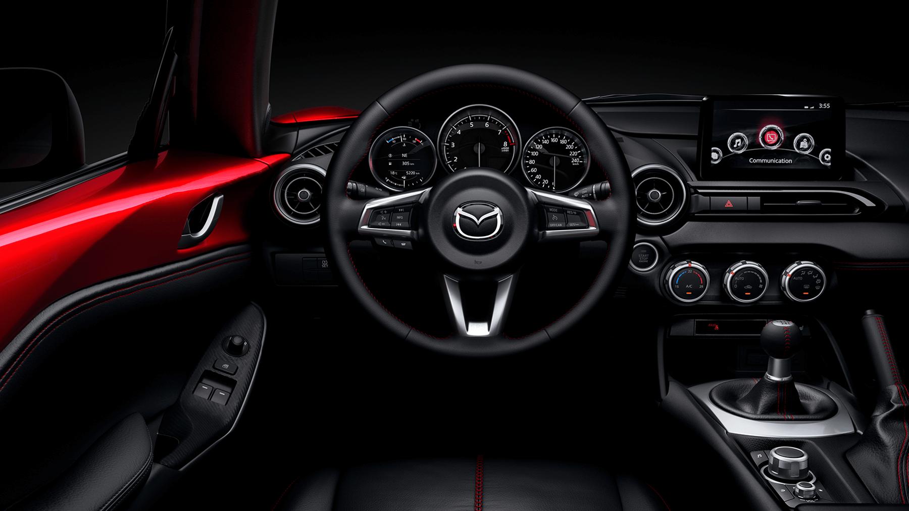 Mazda Mazda MX-5 2.0L 6MT (Cuero Negro - techo de lona) - Galería interior - imágen 0