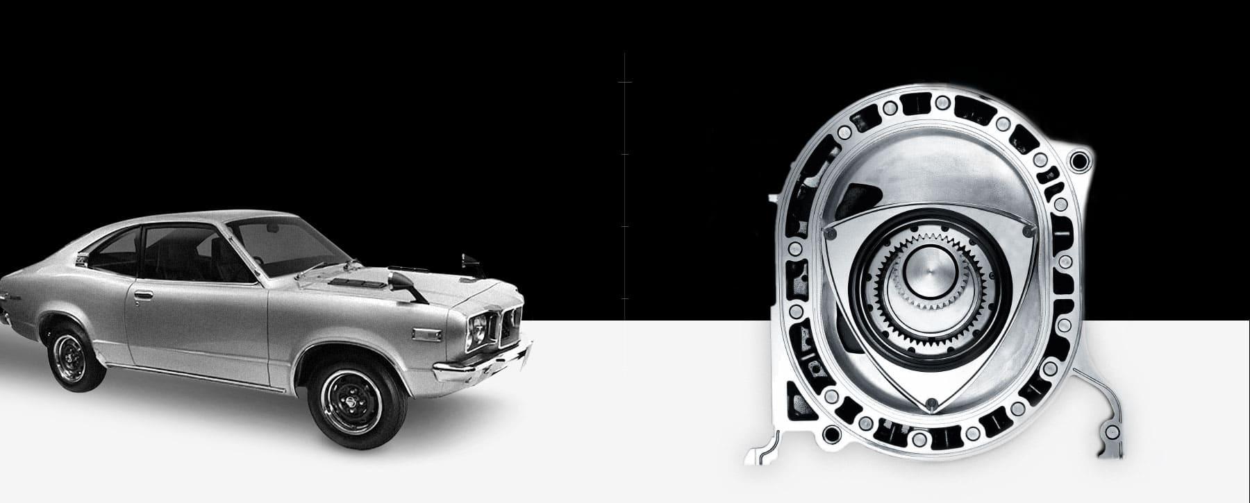 Historia de Mazda - Primer motor rotativo