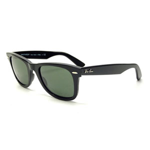 Ray Ban Wayfarer Black Green