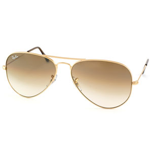 Ray Ban Aviador Gold Brown