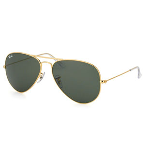 Ray Ban Aviador Gold Green