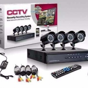 Kit 4 Cámaras Seguridad Cctv Dvr