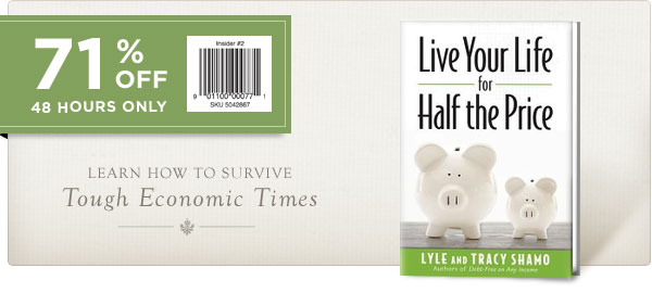 Live Your Life for Half the Price - 71% OFF