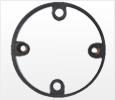 EXTENSION RINGS TO SUIT CIRCULAR JUNCTION BOXES,Kisan Plumbing System - The Design Bridge