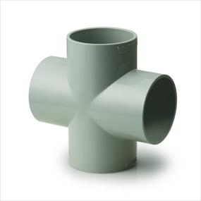 Four Way Tee,Prince Pipe Plumbing System - The Design Bridge