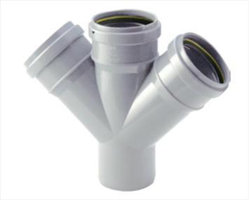 PERMAFIT TM DOUBLE 'Y',Kisan Plumbing System - The Design Bridge
