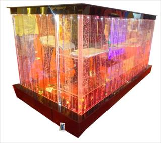 Bubble Reception Table,GloPanels Fibre Cement Board - The Design Bridge