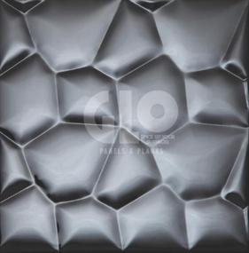 Metal Mosaic,GloPanels Fibre Cement Board - The Design Bridge