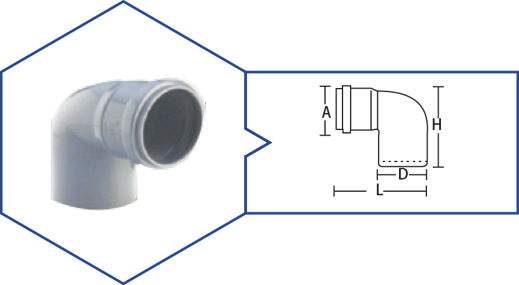 BEND 87.5,Kisan Plumbing System - The Design Bridge