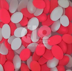Pebble Mosaic,GloPanels Fibre Cement Board - The Design Bridge