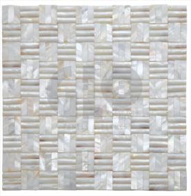Shell Mosaic,GloPanels Fibre Cement Board - The Design Bridge