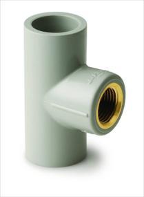 Female Threaded Tee,Prince Pipe Plumbing System - The Design Bridge