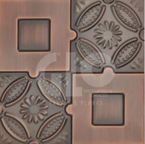 Metal Wall Decor,GloPanels Fibre Cement Board - The Design Bridge