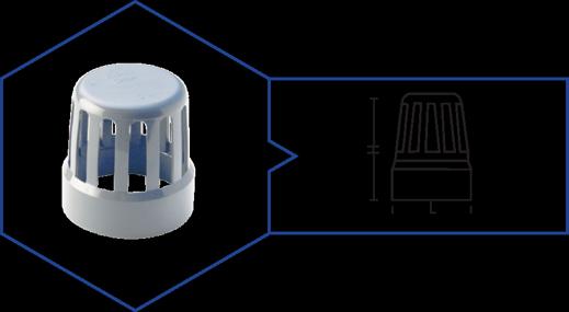 VENT COWL,Kisan Plumbing System - The Design Bridge