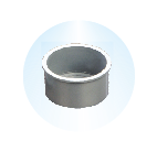 END CAP PLAIN/THREADED,Kisan Plumbing System - The Design Bridge