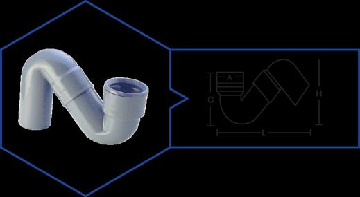 S' TRAP,Kisan Plumbing System - The Design Bridge