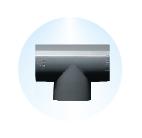 EQUAL TEE,Kisan Plumbing System - The Design Bridge