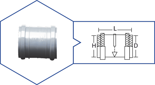 COUPLER,Kisan Plumbing System - The Design Bridge