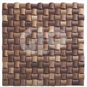Wood Mosaic,GloPanels Fibre Cement Board - The Design Bridge