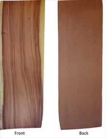 Live Edge Veneer,GloPanels Fibre Cement Board - The Design Bridge