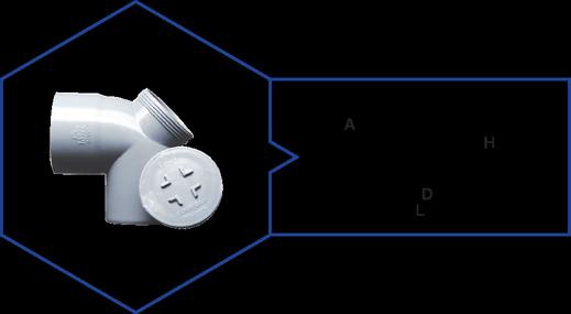 BEND 87.5 WITH DOOR,Kisan Plumbing System - The Design Bridge
