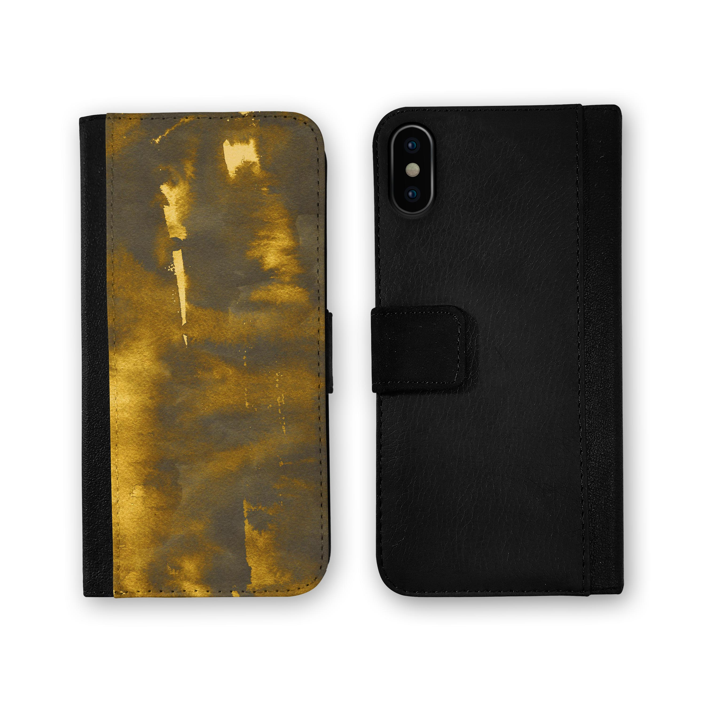 Details about Grunge Golden Hour iPhone Leather Credit Card Wallet Case