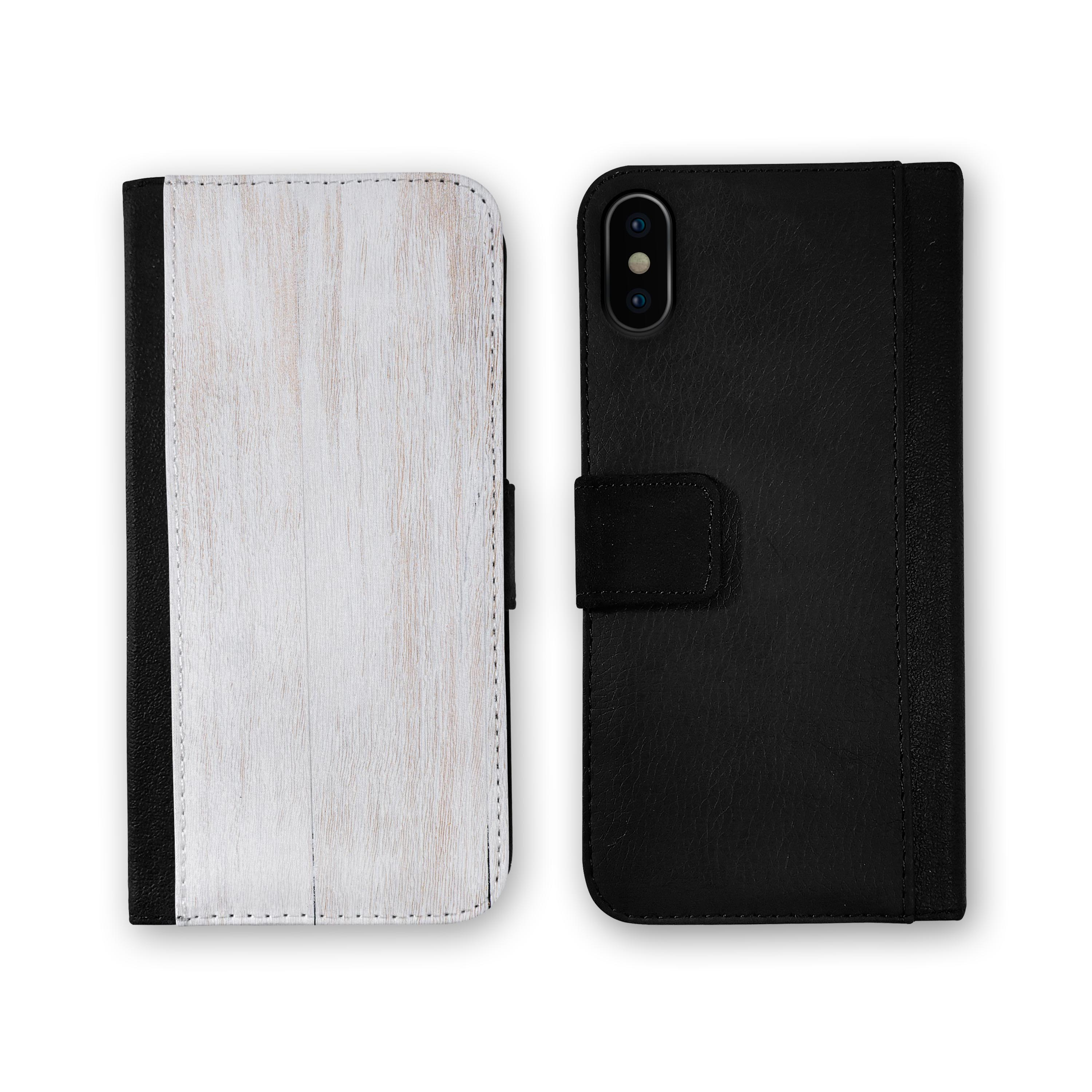 Light-White-Wood-Planks-iPhone-Leather-Credit-Card-Wallet-Case thumbnail 6