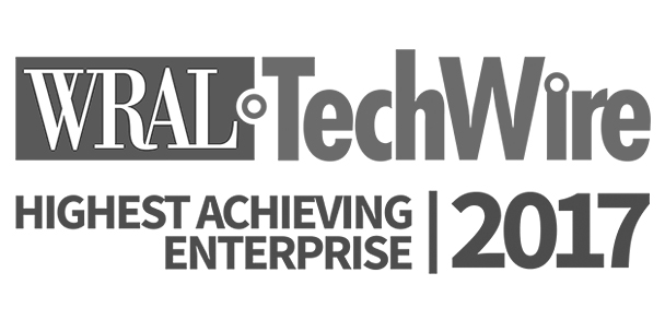 WRAL Techwire Highest Achieving Enterprise