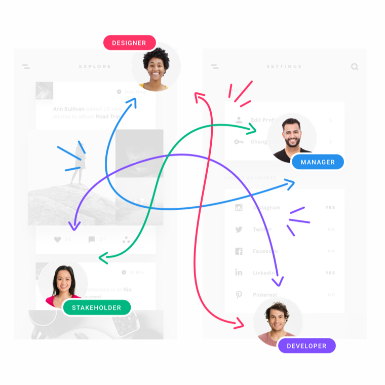 Team collaboration—in real time
