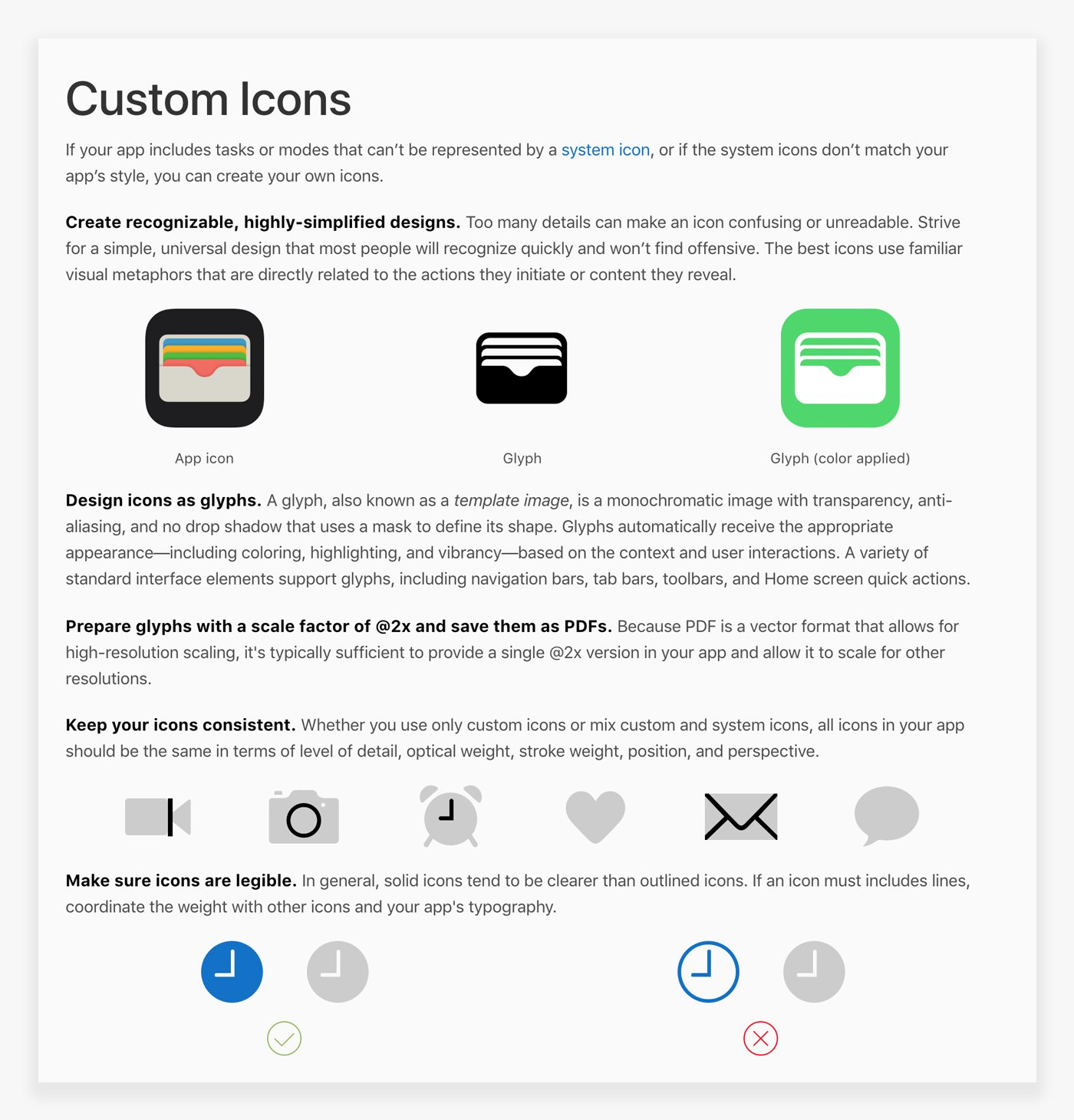 Design Systems Handbook Designbetter The Circuit And Other Components Will Not Work Pdf File Click Here Apple Shows Different Icon Types In Their Ecosystem App Icons Glyphs Used On Color