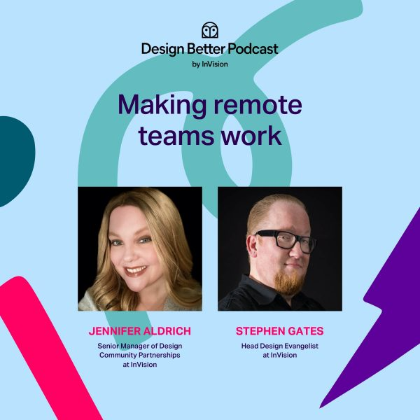 Bonus Episode:  Making remote teams work with Jennifer Aldrich and Stephen Gates