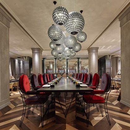 Kokaistudios finished a transformative redesign of Mr & Mrs Bund restaurant
