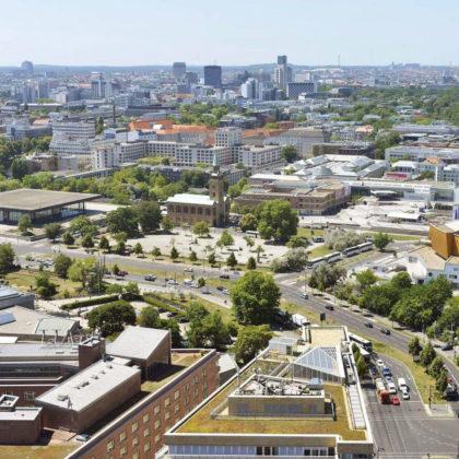 View of Kulturforum, Berlin