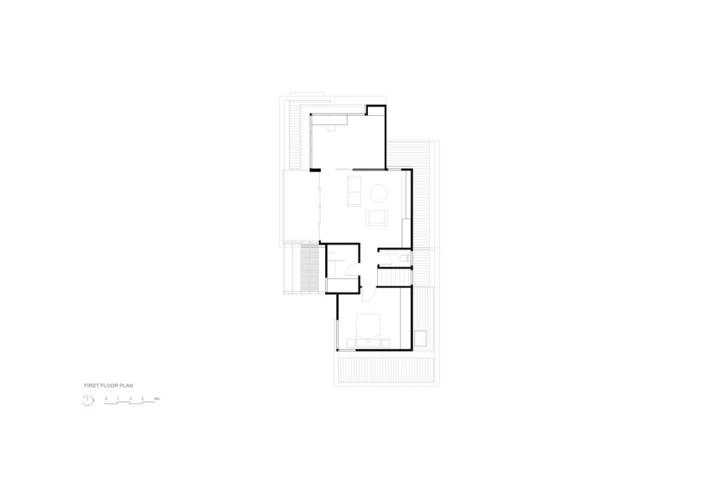 First Floor Plan - Brodecky House / Atlas Architects