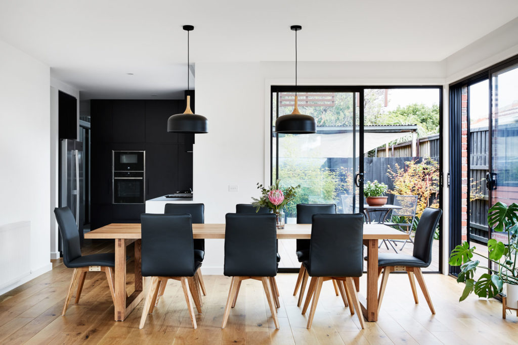 Dining Room, Brodecky House / Atlas Architects