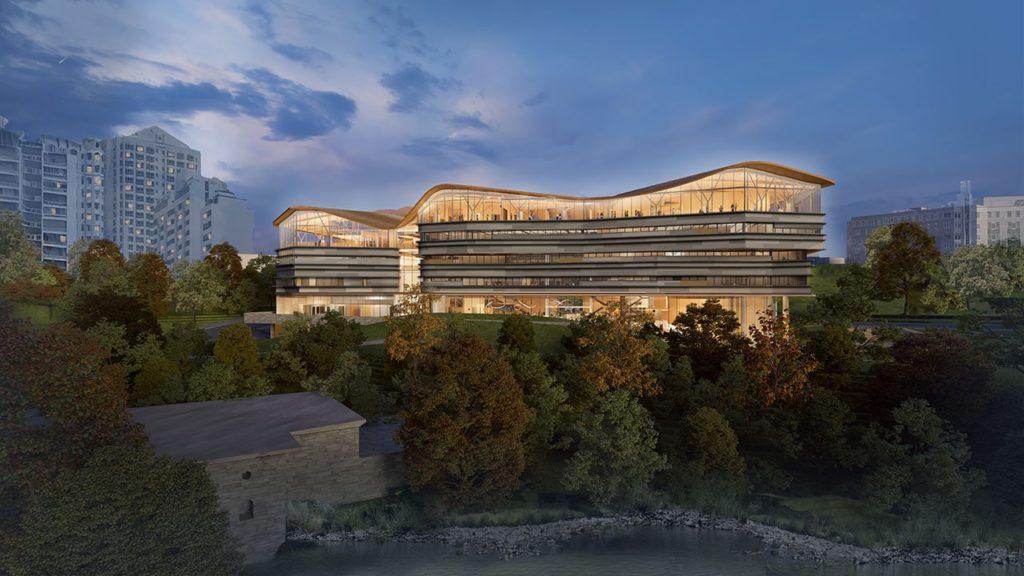 Diamond Schmitt reveals design for Ottawa library and archives