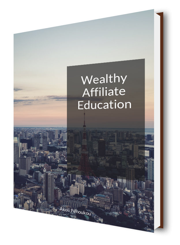 eBook cover showing skyscrapers and the title