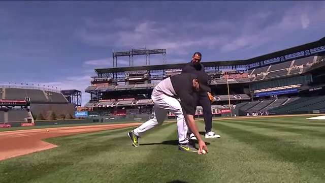 Baseball fielding tips from Nolan Arenado
