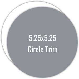 Create Your Own 5.25x5.25 Circle Die Card