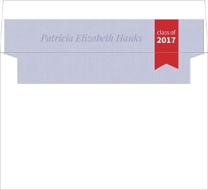 Fun Report Card Graduation Envelope Liner