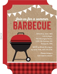 steak grilling bbq party invitation bbq invitations